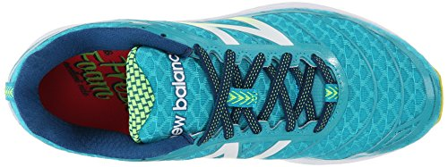 New BalanceW980 B V2 - zapatos de running mujer Multicolor (bb2 Teal/yellow)