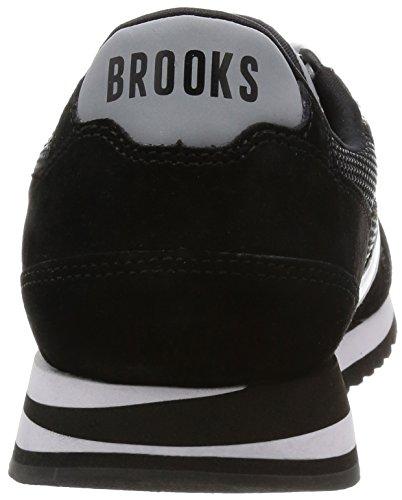 Brooks Hommes Jet Noir/Blanc Chariot Basket