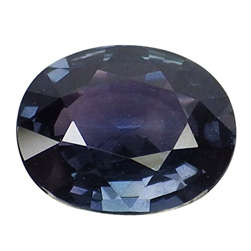 1.44 Ct. Natural Oval Blue Green Color Change Sapphire Loose Gemstone (Sapphire Color Change Oval)