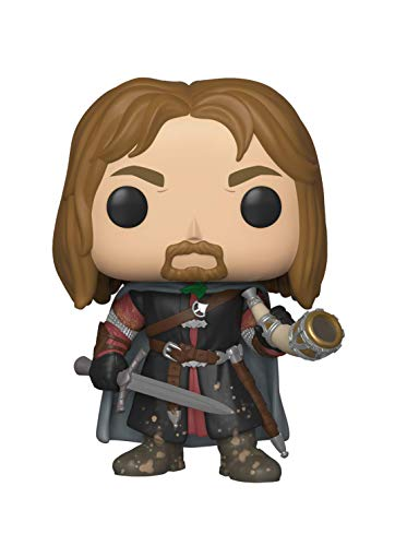 (Funko Pop Movies: Lord of The Rings - Boromir Collectible Figure, Multicolor)