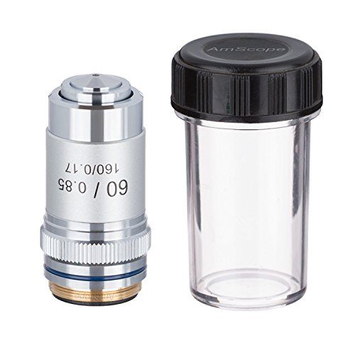 AmScope A60X 60X Achromatic Microscope Objective