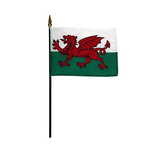 (Wales Miniature Flag (4 in. x 6 in.))