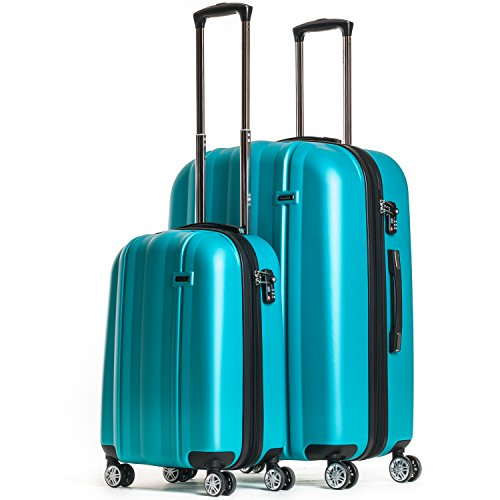CALPAK Winton' Expandable Luggage Set, Turquoise