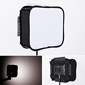 SB300 Softbox Diffuser for YONGNUO YN300 III II,YN300 Air LED Video Light Panel Foldable Portable Soft Filter