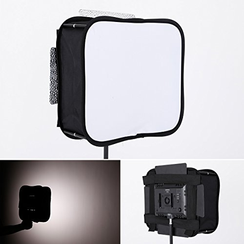 SB300 Softbox Diffuser for YONGNUO YN300 III YN-300 II LED Video Light Panel Foldable Portable Soft Filter by ULANZI