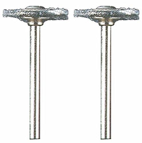 Dremel 428-02 Carbon Steel Brushes (2 Pack), 3/4'
