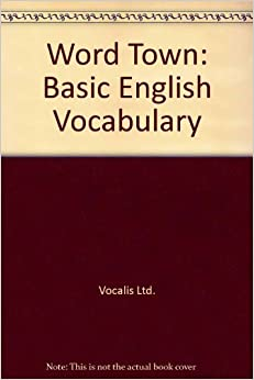 Book Word Town: Basic English Vocabulary