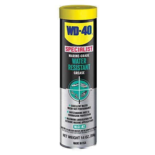 WD-40 Specialist Marine Grade Water Resistant Grease, 14 OZ