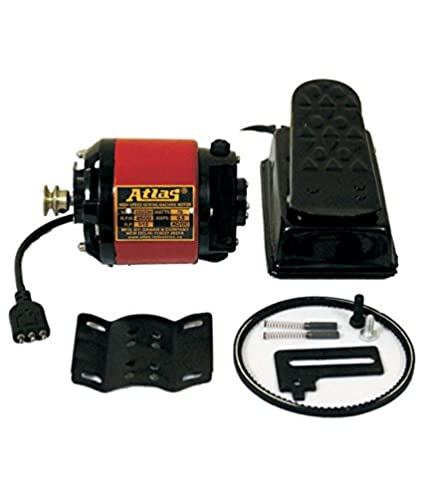 Atlas Sewing Machine Motor With Foot Regulator Copper Winding Best Sewing Machine Motors