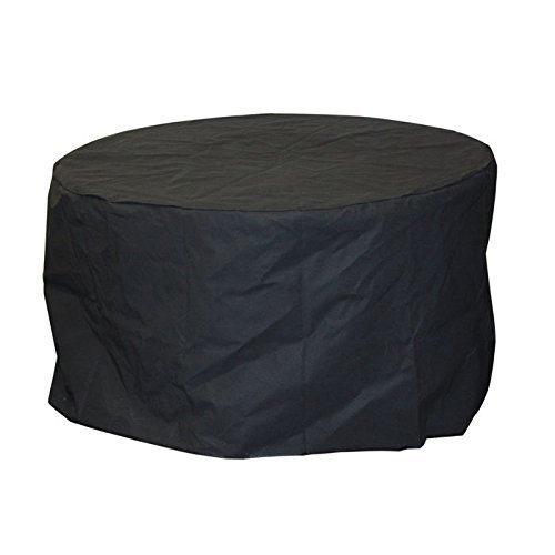 Quickflame 34'' Round Cover for Rogers Outdoor Round 40,000 BTU Liquid Propane (Gas) Fire Table Pit by Quickflame