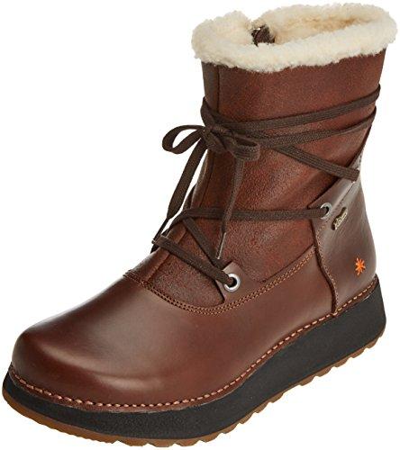 Art Women's Heathrow Ankle Boots Brown (Heritage-wax Brown-adobe) ya28xXOE