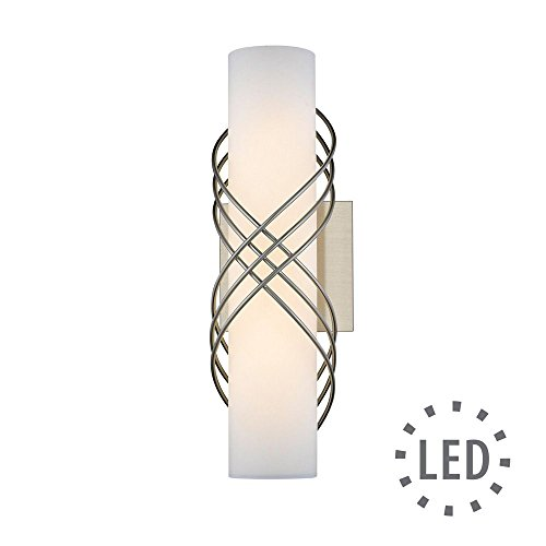 Golden Lighting 9116-B14 PW-OP LED Bath Bar Slvr
