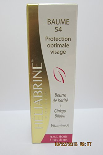 Heliabrine Balm 54 Protective Moisturizer For Cold Winter Days Protects From Chilblains and Frostbite.