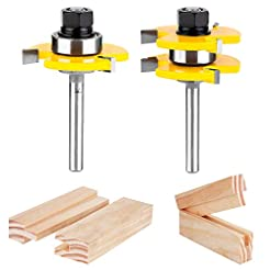 KOWOOD Tongue and Groove Set of 2 Pieces...