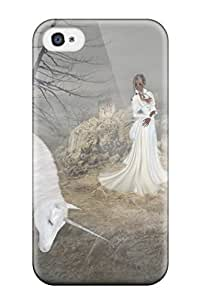 Melissa Fosco's Shop 2910929K212138659 unicorn horse magical animal Anime Pop Culture Hard Plastic iPhone 4/4s cases