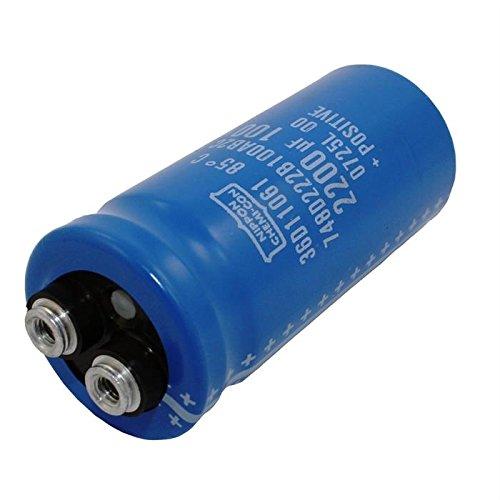 Screw Electrolytic Capacitor 2200µF 100V 85°C ; E36D101HLN222QA80M ; 2200uF UCC