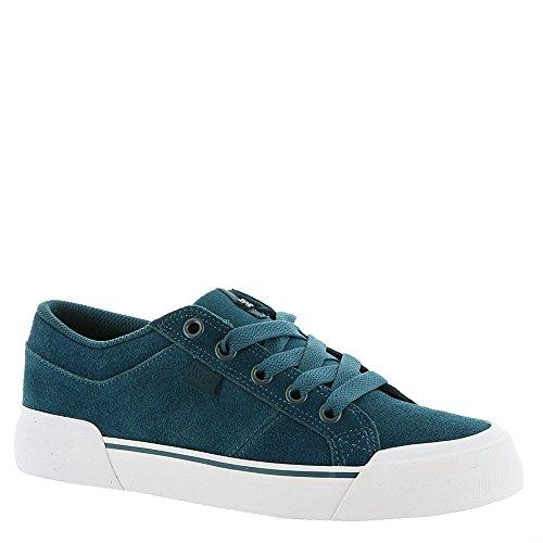 DC Women's Danni SE Skate Shoe, Navy/White, 9.5 B B US