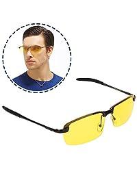 Gafas de conducción con visión nocturna, Gafas de sol polarizadas HD Gafas de seguridad Gafas antideslumbrantes para conducir Ciclismo