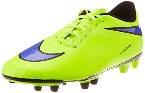 New Cleats Football (New Nike Men's Hypervenom Phade FG Soccer Cleat Volt/Persian Violet 10)