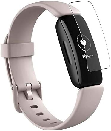 Puccy 3 Pack Screen Protector Film, appropriate with Fitbit Inspire 2 TPU Guard ( Not Tempered Glass Protectors )