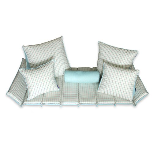 24 X 96 Runner (Bay window cushion,Sill cushion retro bay window cushion cover seats sill pad window bench mat sofa mat rug tatami mats for living room bedroom-B 60x96cm(24x38inch))