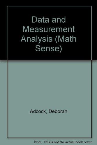 Data and Measurement Analysis (Math Sense)