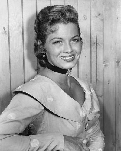 Angie Dickinson in Broken Arrow sexy early portrait from TV western series 1956 11x14 HD Aluminum Wall Art ()