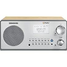 Sangean HDR-18 HD AM/FM Home Audio Radio, Walnut