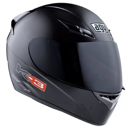 2013 AGV K3 Mono Motorcycle Helmets - FLAT BLACK XL by AGV - Mono Motorcycle Helmets