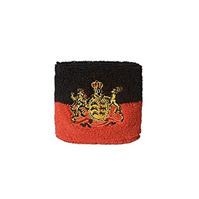 Digni reg Germany Kingdom W uuml rttemberg Wristband sweatband set pieces free sticker Estimated Price £6.95 -