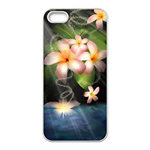 Iphone 5,5S 2D Customized Hard Back Durable Phone Case with sun flower Image
