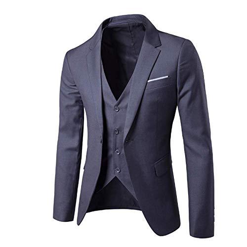 Slim Boucle Costume D'affaires Printemps Tuxedo Zpfxed Décontracté Une Automne Et C R80xT7f