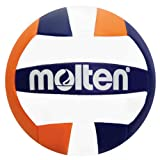 Molten Mini Volleyball, Navy/Orange