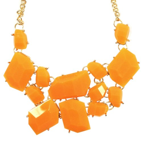 Wrapables Vibrant Chunky Geometric Necklace
