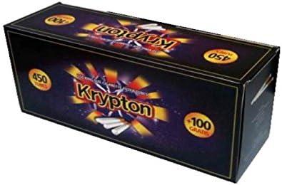 Caja de 13200 tubos para cigarrillos.- Krypton King Size (Cajas 450 + 100): Amazon.es: Salud y cuidado personal
