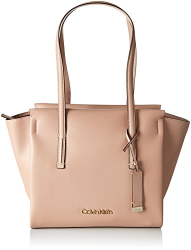 Calvin Klein Frame Medium Shopper - Bolsos totes Mujer Beige (Nude)