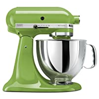 KitchenAid KSM150PSGA Artisan Series 5-Qt. Batidora de pie con escudo de colada - Manzana verde