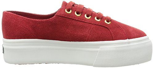 Suew Dk Rosso Basse 2790 Red Sneaker Donna Superga 104 Scarlet 4xPTqH0