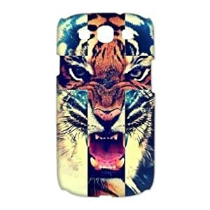 Your own custom Tiger Samsung Galaxy S3 I9300, Samsung S3 Tiger personalized cover