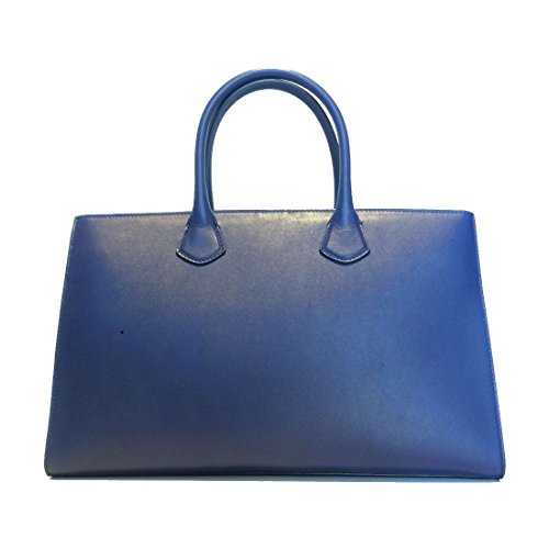 PATRIZIA PEPE Borsa Maxi Tote in Pelle 2V6274 Dress Blue