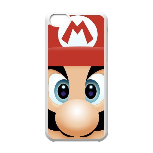 Life margin Mario phone Case For iPhone 5C G77KH3275