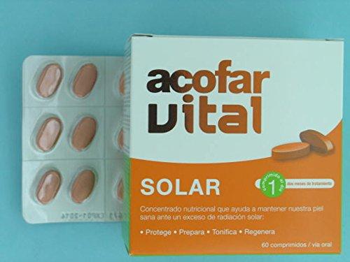 ACOFARVITAL - ACOFARVITAL SOLAR 60 COMP: Amazon.es: Salud y cuidado personal