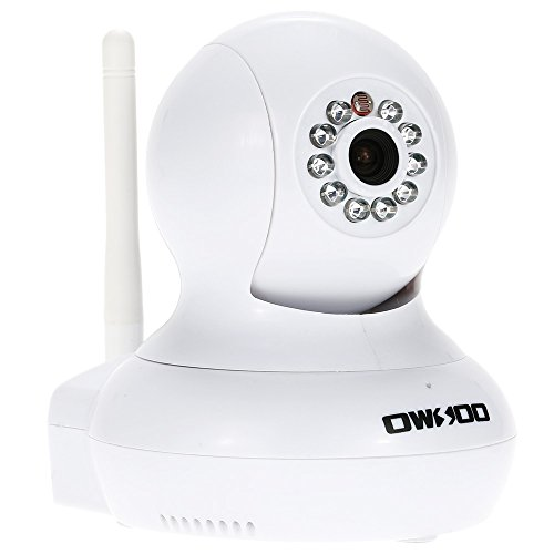 UPC 605757096940, OWSOO HD H.264 720P Surveillance IP Camera Wireless Wifi CCTV Security Pan Tilt 2-way Audio Phone Control Night View Support TF Card Onvif Motion Detection Email Alarm TP-C647WT