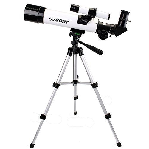 SVBONY Refractor 60mm Astronomy Telescope for Kids Beginners...