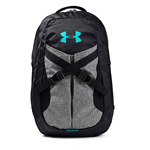 Under Armour Recruit Backpack 2.0, Black//Breathtaking Blue, One Size Fits All
