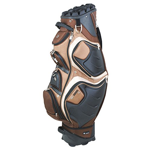 Bennington Quiet Organizer 12 Cart Bag Mocha