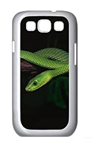 2015 Green Snake Desktop Custom Hard Back For SamSung Galaxy S5 Mini Case Cover - Polycarbonate - White