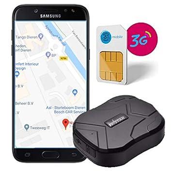 TKSTAR GPS rastreador 3G Resistente al Agua Dispositivo de ...