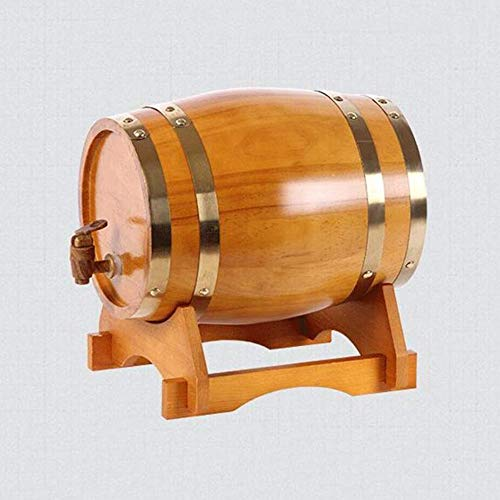 LHome American Oak Aging Barrel Age Your Own Tequila, Whiskey, Rum, Bourbon, Wine 1.32 Gallons Hotel Family Wine Barrel 3L/5L/10L/20L (Color : Style E, Size : 10L) by LHome (Image #3)