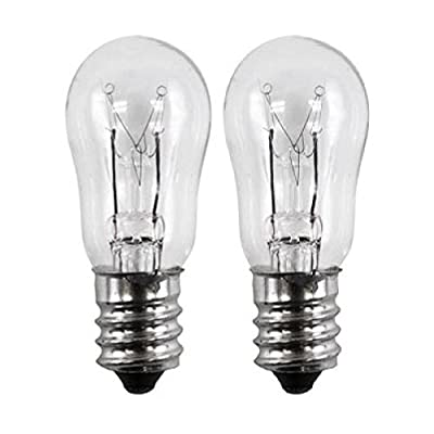 OCSParts WE4M305 General Electric Dryer Light Bulb, 120V, 10W (Pack of 2)